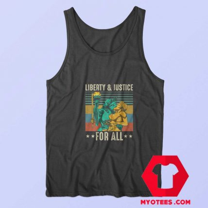 Liberty and Justice for All Vintage Unisex Tank Top