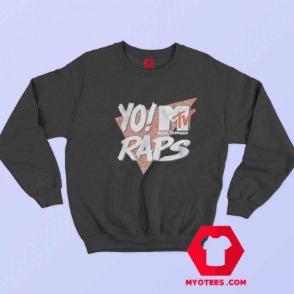 MTV Raps Music Television Retro Vintage Sweatshirt