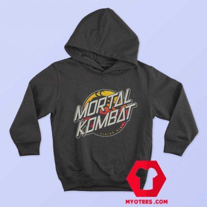 Mortal Kombat With a Little Skateboard Style Hoodie
