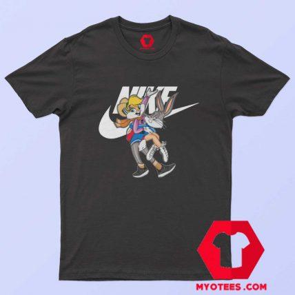 Nike Bugs And Lola Bunny Funny Unisex T Shirt