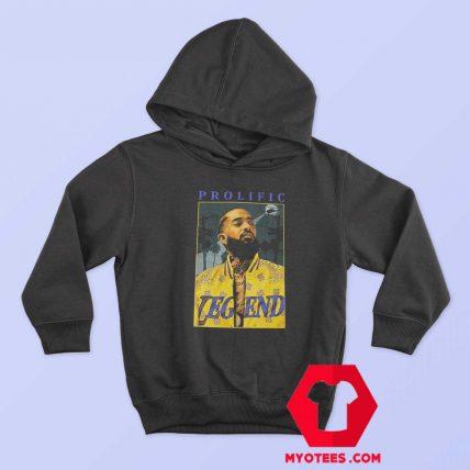 Nipsey Hussle Prolific Legend Hip Hop Rap Hoodie