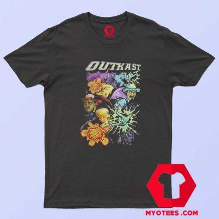 Outkast Vintage Element Grpahic Unisex T Shirt