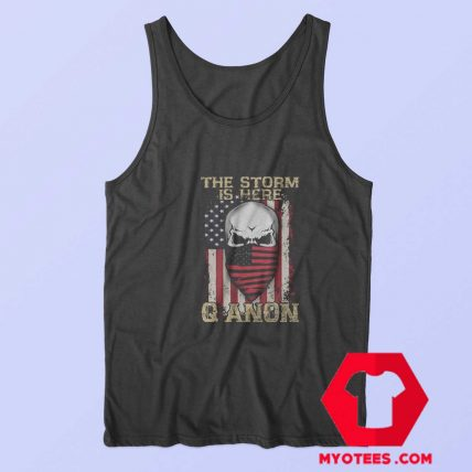 Qanon Political The Storm Is Here Unisex Tank Top