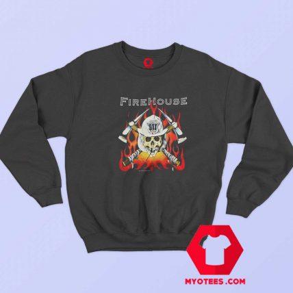Rare Vintage Firehouse World Tour 1992 Sweatshirt