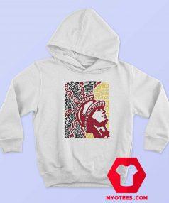 Retro 1960s Style Tommy Trojan Unisex Hoodie