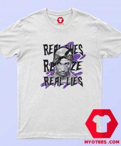 Retro Dark Concord Tupac Shakur Unisex T Shirt