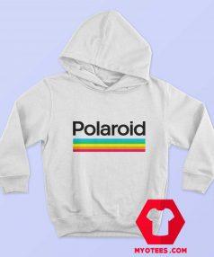 Retro Polaroid Rainbow Style Logo Unisex Hoodie