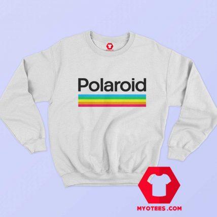 Retro Polaroid Rainbow Style Logo Unisex Sweatshirt