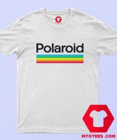Retro Polaroid Rainbow Style Logo Unisex T Shirt