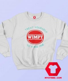 Retro Wimpy Big One Atari Funny Movie Sweatshirt