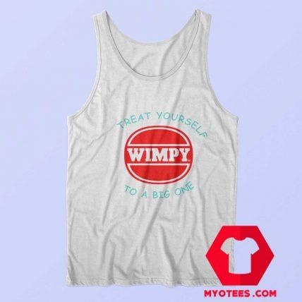 Retro Wimpy Big One Atari Funny Movie Tank Top