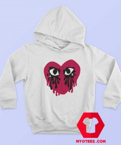 Sad Crying Heart Graphic Unisex Hoodie