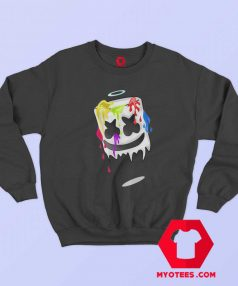 Sad Mello Colorful Graphic Unisex Sweatshirt