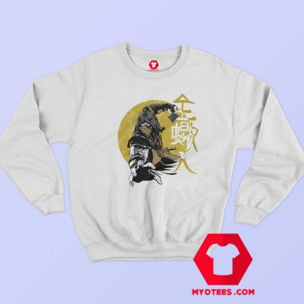 Scorpion from Mortal Kombat Fighting Sweatshirt