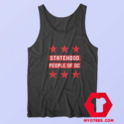 Statehood People Of DC Graphic Unisex Tank Top