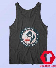 Statehood People Of DC Shirt 51 Unisex Tank Top