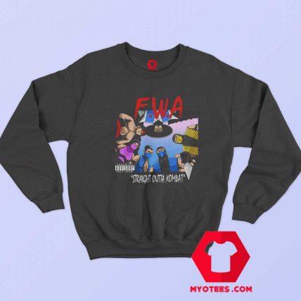 Straight Outta Kombat Mortal Kombat Parody Sweatshirt