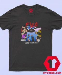 Straight Outta Kombat Mortal Kombat Parody T Shirt