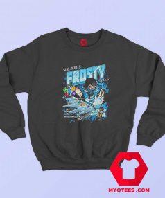 Sub Zezo Frosty Mortal Kombat Parody Funny Sweatshirt
