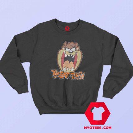 Treat This Taz Looney Tunes Unisex Sweatshirt