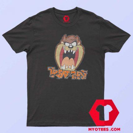 Treat This Taz Looney Tunes Unisex T Shirt