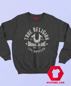 True Religion Graphic Logo Los Angeles Sweatshirt