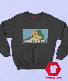 Vintage 90s Haters Gonna Hate Arthur Unisex Sweatshirt