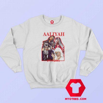 Vintage Aaliyah 1979 2001 Unisex Sweatshirt