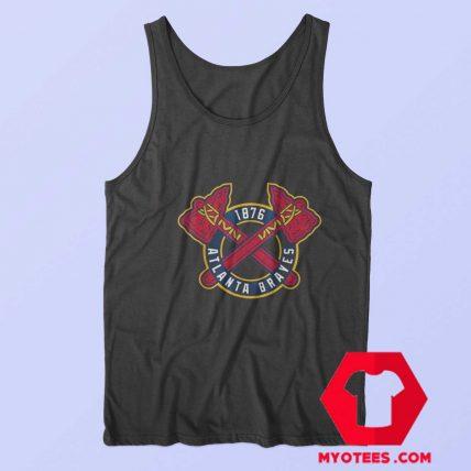 Vintage Atlanta Braves Baseball Logo 1876 Tank Top