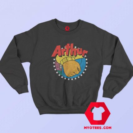 Vintage Frustration Fist Arthur Unisex Sweatshirt