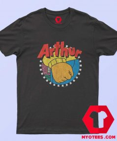 Vintage Frustration Fist Arthur Unisex T Shirt