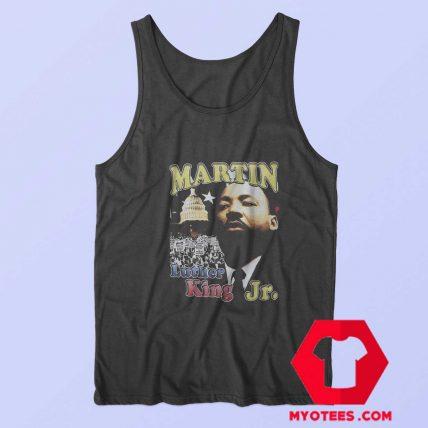 Vintage Martin Luther King Image Unisex Tank Top
