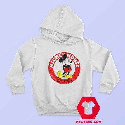 Vintage Mickey Mouse est 1928 Unisex Hoodie