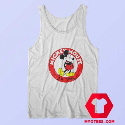 Vintage Mickey Mouse est 1928 Unisex Tank Top