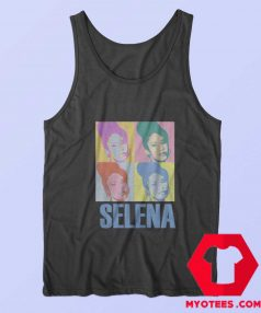 Vintage Retro Selena Quintanilla Tank Top