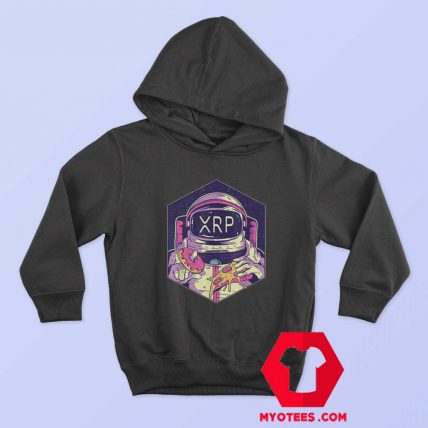 XRP Crypto Currency To The Moon Astronaut Hoodie