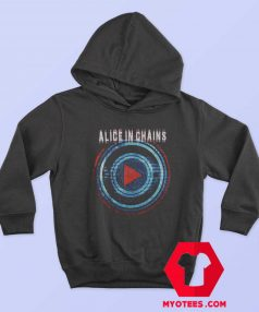 Alice In Chains Play Button Tour Unisex Hoodie