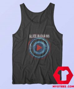 Alice In Chains Play Button Tour Unisex Tank Top