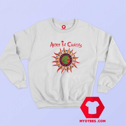 Alice In Chains Sun Logo Grunge Unisex Sweatshirt