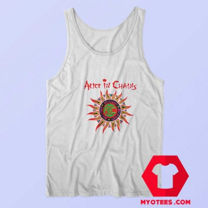 Alice In Chains Sun Logo Grunge Unisex Tank Top