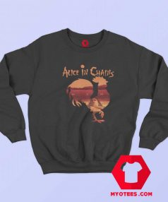 Alice in Chains Rooster Staley Rock Sweatshirt