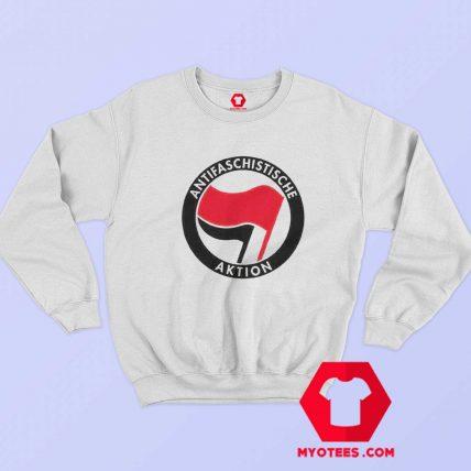 Antifaschistische Aktion Antifa Unisex Sweatshirt