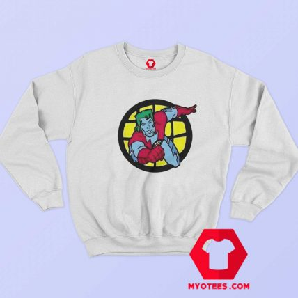 Cartoon Captain Planet 90s Top Vintage Sweatshirt