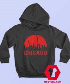 Chicago Basketball B Ball City Illinois State Hoodie