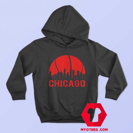 Chicago Basketball B Ball City Illinois State Hoodie