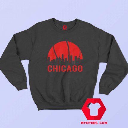 Chicago Basketball B Ball City Illinois State Sweatshirt