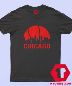 Chicago Basketball B Ball City Illinois State T Shirt