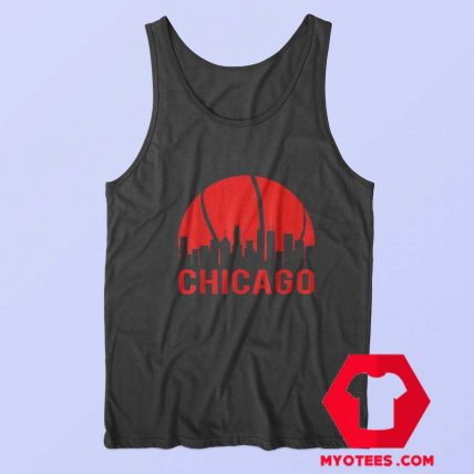 Chicago Basketball B Ball City Illinois State Tank Top