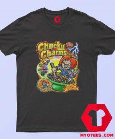 Chucky Charm Horror Movie Cereal Parody T Shirt