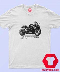 Cool Hayabusa Motorcycle Unisex Grpahic T Shirt